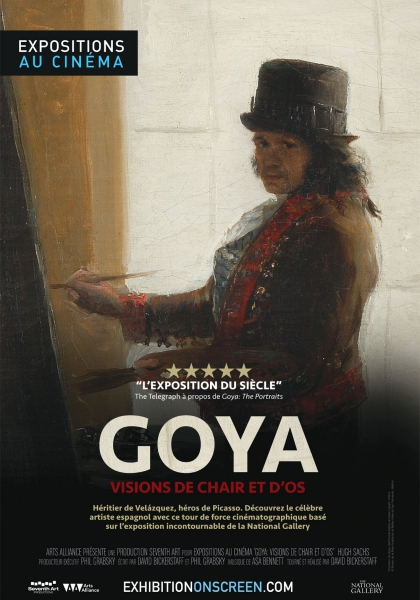Goya - Visions de chair et d'os (Arts Alliance) (2016)